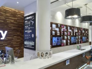 one blow dry bar at Macy's Herald Square in New York City