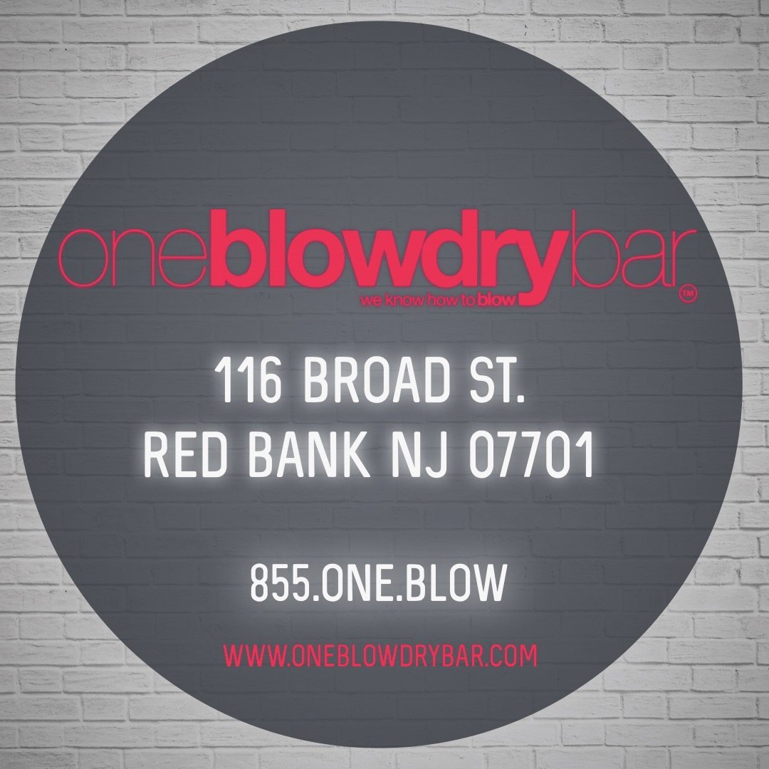 oneblowdrybar® Red Bank Located in New Jersey Monmouth County