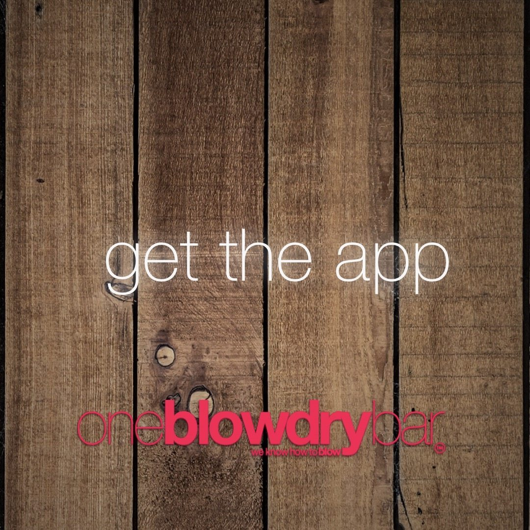 download itunes app for oneblowdrybar the ultimate brand of the blow dry bar on the east-coast in red bank new jersey or midtown manhattan