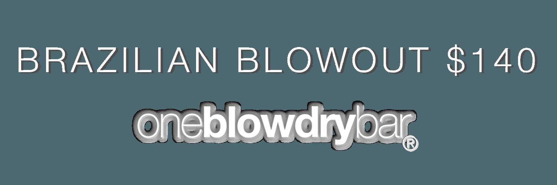 oneblowdrybar® Brazilian Blowout Bar Red Bank New Jersey