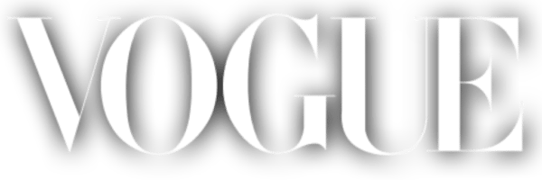 Vogue Magazine Logo White