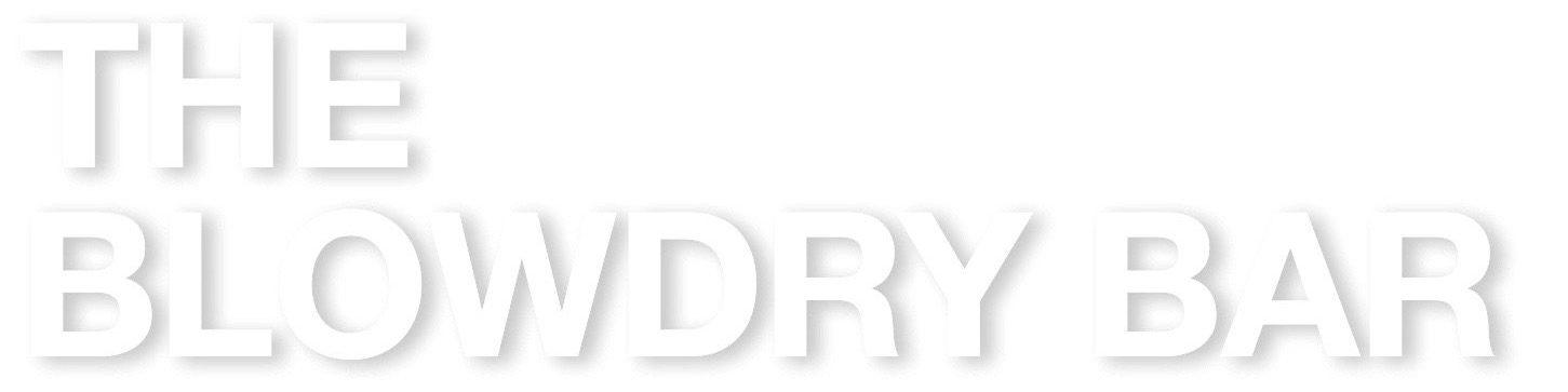one blow dry bar blowout hair styling menu