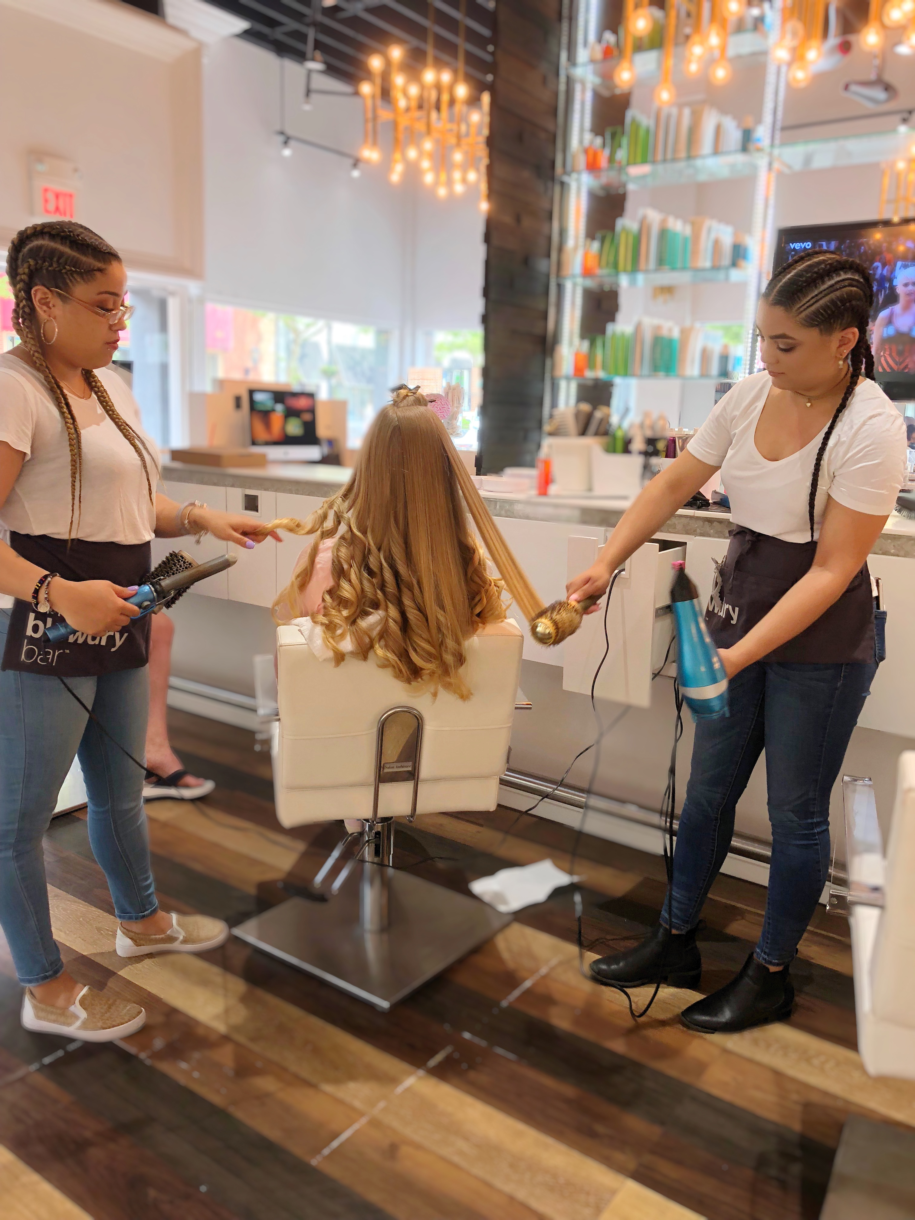 Red Bank Hair Stylist Team at NJ Best Blow Dry Bar and Blowout Hair salons